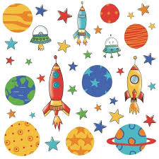 Shop York Wallcoverings Rmk2618scs Planets And Rockets Peel And Stick Wall Decals Multi Overstock 16081033