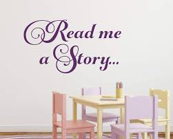 Read Me A Story Wall Decal Reading Nook Run Wild Designs
