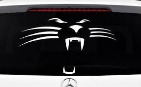 Carolina Panthers Decal Car Truck Window Vinyl Sticker Wall Cornhole Graphic Ebay