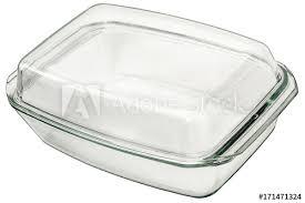 large oblong rectangular glass baking