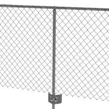 1 5 8 Galvanized Chain Link Post Anchor At Menards