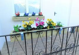 Over The Fence Panel Hanging Balcony Decking Planter