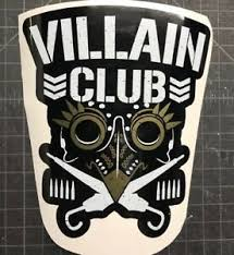 The Villain Club Marty Scurll The Bullet Club Elite Vinyl Car Decal Njpw Roh Wwe Ebay
