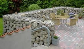 Gabion Fences And Stone Walls Rock Fence Design Nz