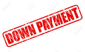 Image result for Down Payment