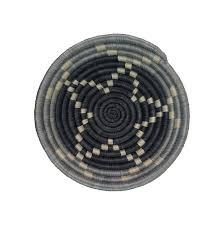 sisal grass basket bowl small wall art