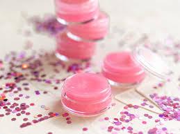diy glitter lip balm