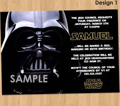 Free Star Wars Birthday Invitations Free Printable Birthday