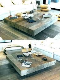 glass coffee table decor