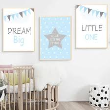 Kids Poster Nordic Kids Room Posters And Prints Nursery Wall Art Quote Canvas Pop Art Pictures Baby Poster Cute Unframed Painting Calligraphy Aliexpress