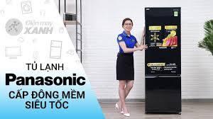 Tủ lạnh Panasonic Inverter 322 lít NR-BC369QKV2 cấp đông mềm siêu tốc • Điện  máy XANH - YouTube