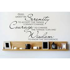 Winston Porter God Grant Me Serenity To Accept The Things I Cannot Change Wall Decal Reviews Wayfair