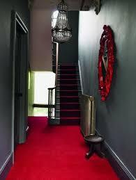 hallway lighting mirror staircase