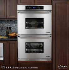 ovens electric double stainless steel