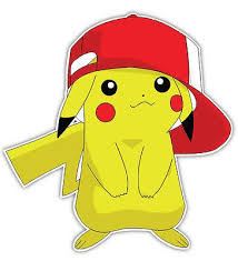Pokemon Pikachu Anime Car Window Decal Sticker 003 Anime Stickery Online