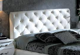 esf nelly 621 white eco leather tufted