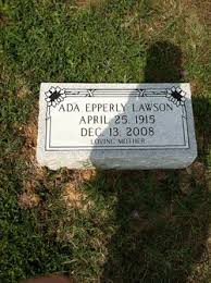 Ada Epperly Lawson (1915-2008) - Find A Grave Memorial