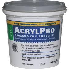 acrylpro ceramic tile mastic anawalt