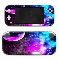 Nintendo Switch Lite Skins Decals Vinyl Wrap Decal Stickers Skins Cover Galaxy Fluorescent Walmart Com Walmart Com