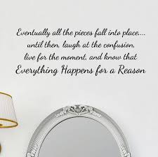 Eventually All The Pieces Wall Sticker
