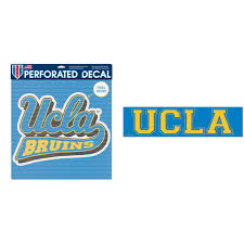 Ucla Bruins Official Ncaa Automotive Car Decal 17 X17 And Bumper Sticker Bundle 2 Items Walmart Com Walmart Com