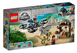 Lego Jurassic World Characters Official Lego Shop Us