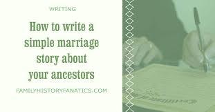 How to Write a Wedding Story – Robert Weds Adeline
