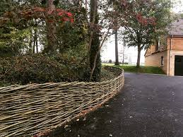 Continuously Woven Willow Fences Wonderwood