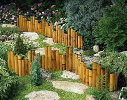 Would Be Cool Where The Wood Fence Is Coming Down Bamboo Garden Bamboo Garden Fences Bamboo Landscape