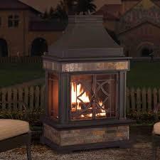 sunjoy fireplace wayfair ca