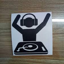 Car Sticker Dj Music Vinyl Car Packaging Accessories Decal Pattern Movement Car Stickers Aliexpress