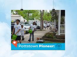Community and Economic Development in Pottstown.