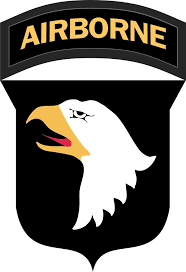 Army 101st Airborne Division Patch Vinyl Transfer Decal