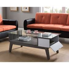 george oliver lana glass coffee table