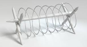 Military Barbed Wire 3d Model 8 Obj Max Fbx 3ds Dae Blend Free3d