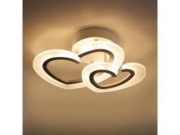 Oovov Led Heart Child Room Ceiling Light Baby Room Kids Room Bedroom Ceiling Lamp 50cm 23w Natural Light Newegg Com