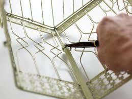 how to make a birdcage succulent garden