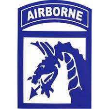 Airborne Stickers Decals Usamm