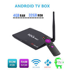 Android8.1 Network TV BOX Dual Band WIFI 3.0USB Media Player IPTV Smart Box  1080p HD 4K AH-LINK MX9 PRO RK3328 4GB+32GB TV Box | Buy Products Online  with Ubuy Lebanon in Affordable