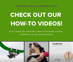 Dogwatch Of Peace Country Need Help Adjusting Your Pet S Hidden Fence Collar Or Replacing The Collar Battery We Ve Got Step By Step Instructions And More Helpful Hidden Fence Tips In Our How To Videos