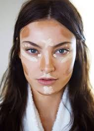 face look thinner with makeup