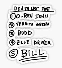Image Result For Kill Bill Sticker