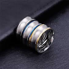 snless steel rings jewelry gift