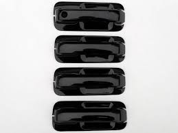 ford f150 gloss black door handle cover
