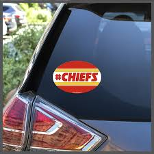Nfl Kansas City Chiefs Chiefs Decal Or Car Magnet