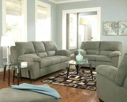 likable grey couch brown carpet home