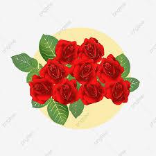 خيال الورد روز وردة حمراء حلم Png وملف Psd للتحميل مجانا