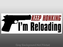 Question For Gun Owners Do You Have Pro Gun Stickers On Your Car S Ign Boards