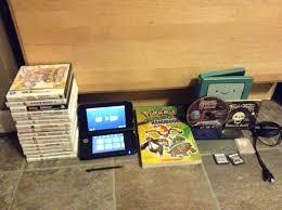 Nintendo 3DS XL System 27 Game Bundle Lot Mario Pokemon Omega Ruby Black  White 2