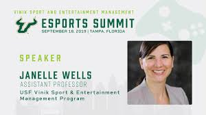 Janelle Wells - USF Esports Summit